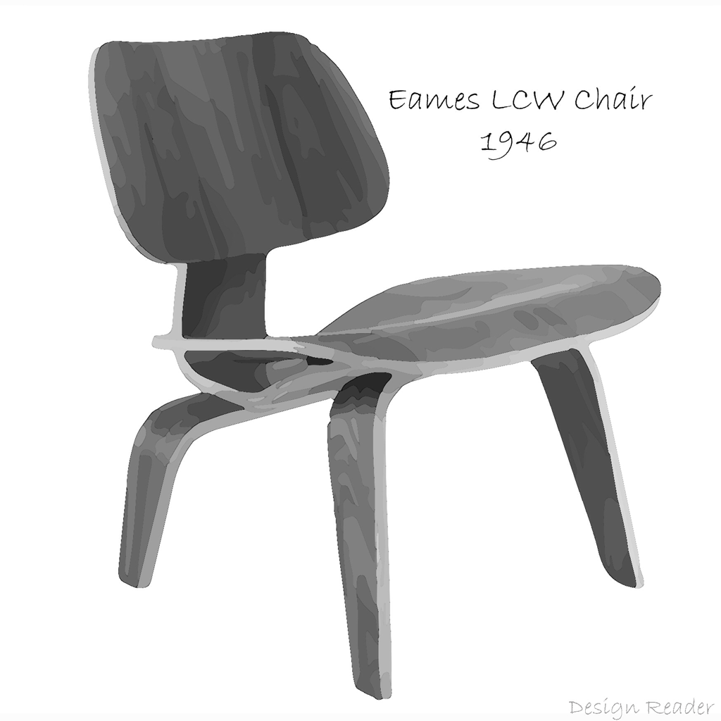 Eames LCW Chair Art by Design Reader