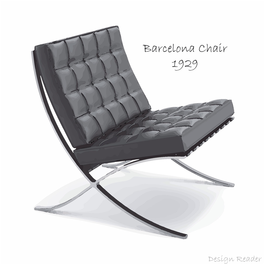 Barcelona Chair art by Design Reader Picture
